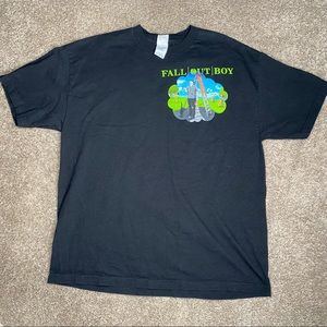 Fall out Boy, Black Clouds & Underdogs Tour shirt